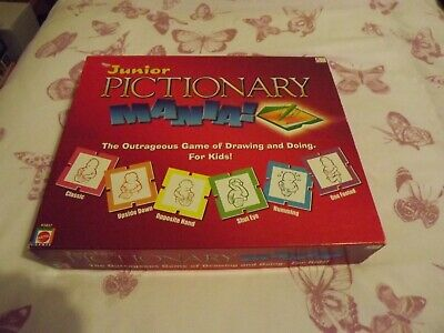 Junior Pictionary Mania ! The Outrageous Game Of Drawing And Doing For Kids