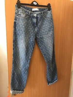 Next Relaxed Skinny Jeans Size 10 Regular