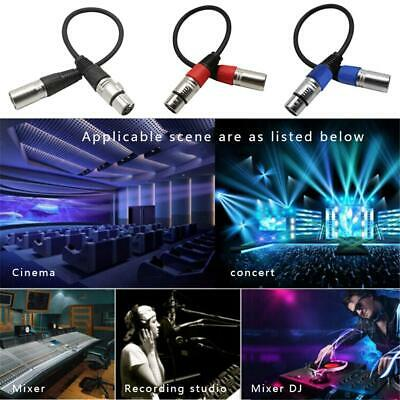 Microphone Speaker Lead Mic Cable XLR Patch Lead Balanced Male To Female Plugs