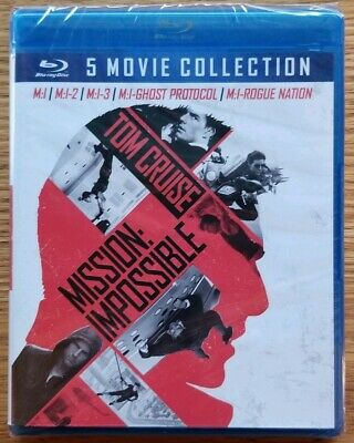 Mission: Impossible - 5 Movie Collection - Blu-ray