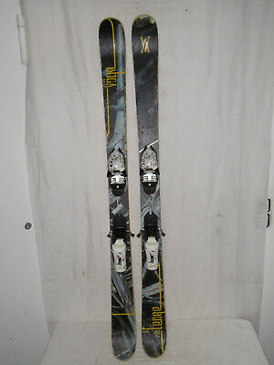 "Völkl "" Ledge "" Top Ski Twin-Tip Freestyle Carver 148 Cm + Bindung"