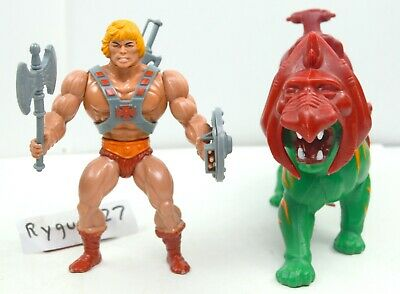 MOTU, He-Man & Battle Cat, figure, Masters of the Universe, complete, lot, set