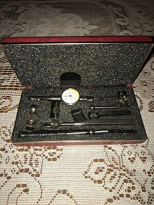 "STARRETT No 711 LAST WORD .001"" Dial Test Indicator Machinist Tool"