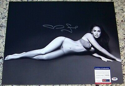 ONE TIME SALE! Megan Fox Signed Autographed 16x20 Photo PSA IN THE PRESENCE COA