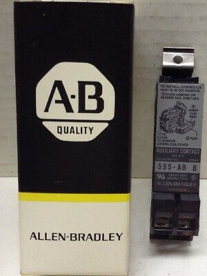Allen-Bradley 595-AB Auxiliary Contact, 1NO, 1NC