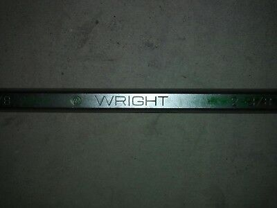 "Wright Tool  2-3/8"" 12 Point Combination Wrench. Made in USA"