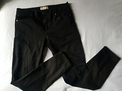 Gap 1969 true skinny jeans with stretch, black, 31R / 31W size 14 approx