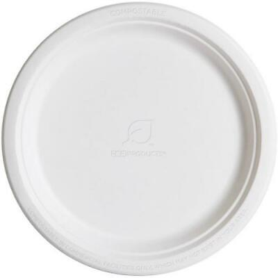 Eco-Products - EP-P005 - 10 in Round Sugarcane Plates