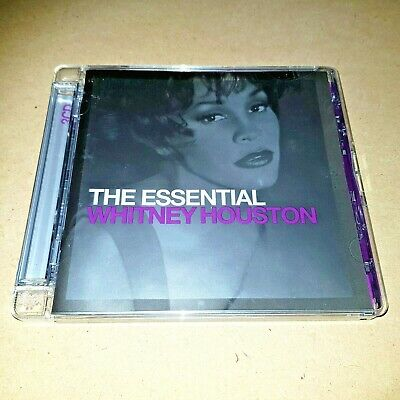 The Essential Whitney Houston (Cd) 2000 Compilation,2 Disc Set...second Hand