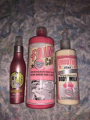 Soap And Glory Bundle Brand New Discontinued Scent Large Sizes