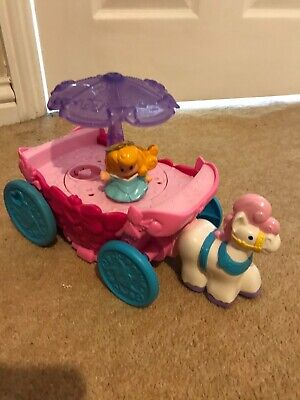 Fisher Price Horse & Carriage