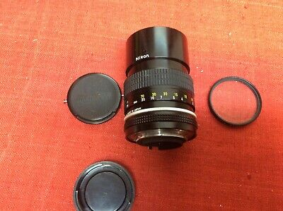 Nikon Nikkor Non-Ai 135mm 1:2.8 Tested Clean & Clear