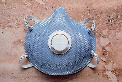 Moldex N95 Particulate Respirator Mask with Exhale Valve # 2300N95 - 100/case