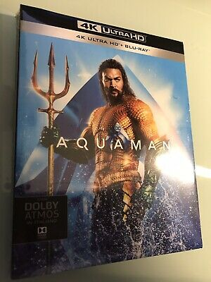 Aquaman 4k uhd + Blu-Ray