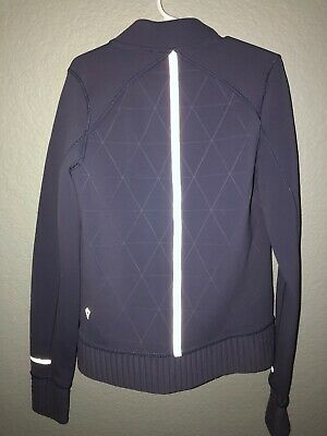 """Ivivva By Lululemon Girls """"Outer Space"""" Jacket~Size 8~Auth"""
