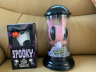 Filler bunny figure & Spooky the thing what squeeks by Jhonen Vasquez
