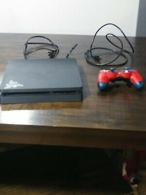 Sony PlayStation PS4 Slim 4 Console bundle and Scuf Pro 4ps infinity controller