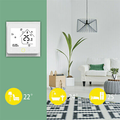 Smart Wi-Fi Programmabile Termico Termostato LCD Wireless Temperatura Controller