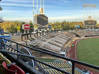 Opening Day 2020 -2 TIX & Parking-DODGERS VS SF GIANTS 3/26/20 1:10PM CLUB ROW B