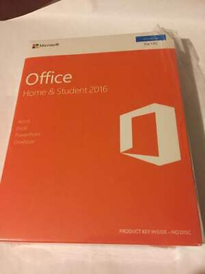 Microsoft Office Home & Student 2016 Windows - Opened only to test Product Key