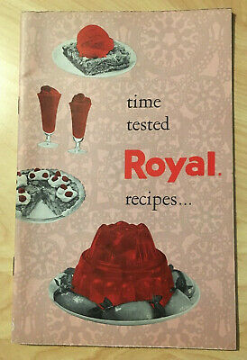 Vintage Royal Pudding Gelatin Recipe Cookbook Time Tested Recipes Booklet