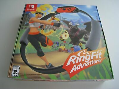 Nintendo Switch: Ring Fit Adventure! Brand New! Sealed! Look! Wow!