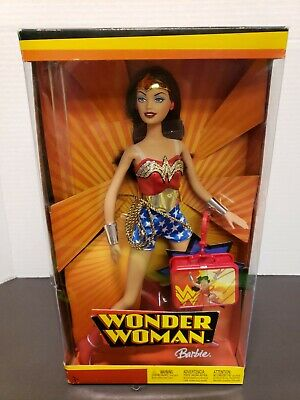 Mattel DC 2004 #6258 Wonder Woman Barbie NIB