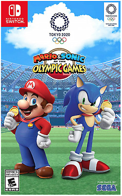 Mario & Sonic at The Olympic Games: Tokyo 2020 (Nintendo Switch, 2019)