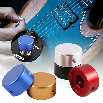 Electric Guitar Effect Pedal Switch Head Foot Nail Aluminum Cap with Wrench Tool
