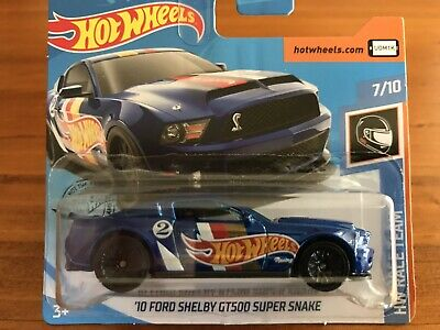 NEW 2019 Hot Wheels Ford Shelby GT500 Super Snake Mustang Race Team Series RARE