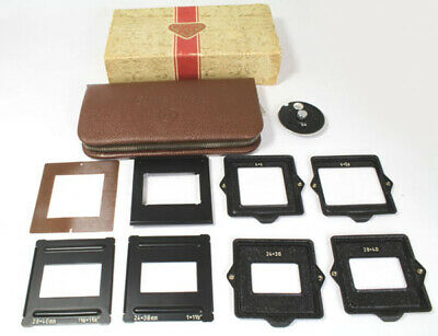 Rollei Mask 24 Kit For Rolleicord V **EXCELLENT** Condition