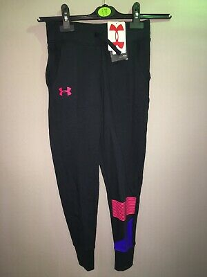 UNDER ARMOUR, GIRLS, Fitness Loose Joggers/ Leggings Size Y/SM  Bnwt Age 7-8
