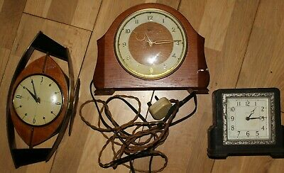 SMITHS / ENFIELD / METAMEC VINTAGE MANTLE CLOCKS 1950S spares repairs