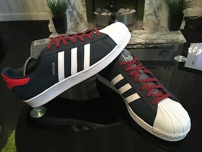 Mens Adidas Superstar Trainers Size Uk 12.5