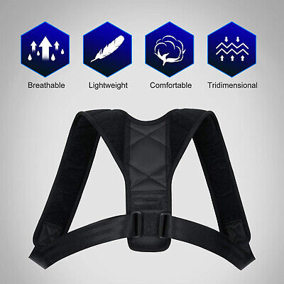 Pro Posture Corrector with Adjustable Breathable Clavicle for Men and Women