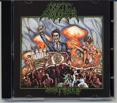 """Cryptic Slaughter """"Money Talks"""" 1987, CD"""