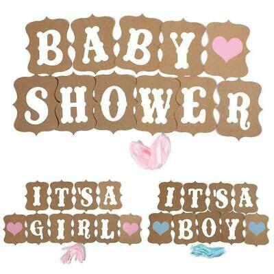 Baby Shower Decorations Girl Pink Boy Blue Its a Girl & Baby Shower Banner Party
