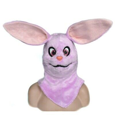 Fursuit Mask Rabbit Mouth Moving Animal Costume Artificial Headgear Cosplay