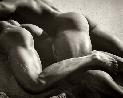 POSTCARD / Herb RITTS / Duo IV, Mexico / 1990 / Gay Interest