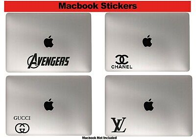 MacBook Pro Stickers Laptop Car Decals Fashion Marvel Disney Captain Supreme LV
