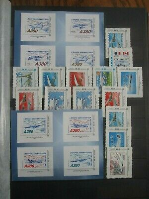Timbres France Autoadhesif Aviation  Neuf Xx