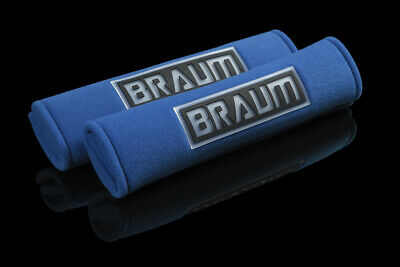 "BRAUM Racing 2"" Harness Pads - BLUE (Set of Two)"