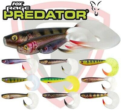 Fox Rage Mini Fry 7cm x6 Mixed Colour Pack Soft Plastic Fishing Lure