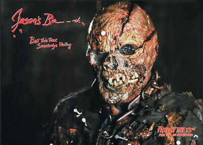 Freitag der 13 Jason Voorhees Poster Friday the 13th Horror movie print