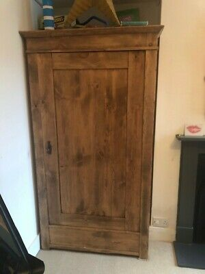 Original antique oak wardrobe