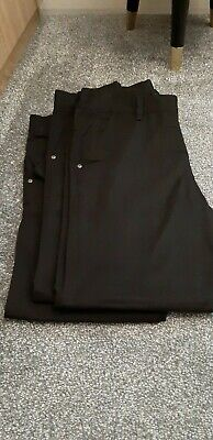 Next Boys School Trousers Black Jeans Style Age 12 x 2 Pairs