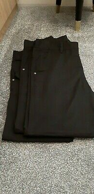 Next Boys School Trousers Black Jeans Style Age 15 x 3 Pairs