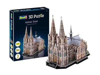 (RV00203) - Revell 3D Puzzle - Cologne Cathedral