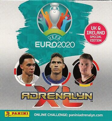 Panini Adrenalyn Euro 2020 All 18 Core Team Mate Logo Fans Wondered Line Up Capt