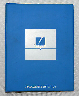 Operation Manual For Disco Wafer Dicing Saw / Automatic Cutting Saw